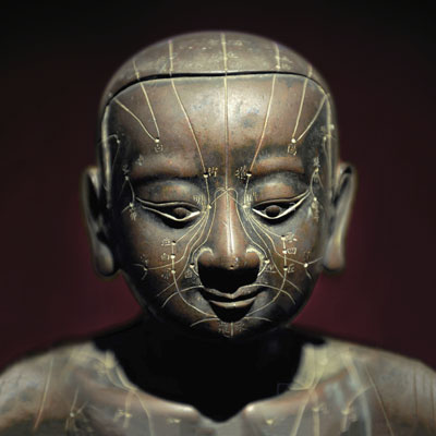 Ancient Acupuncture Statue Image